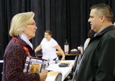 Minister Bennett and delegate